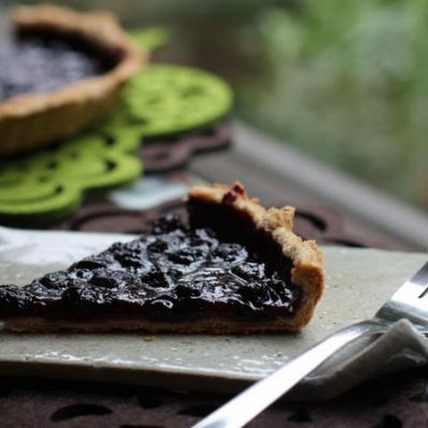 Brilliant & Beautiful Blueberry Tart
