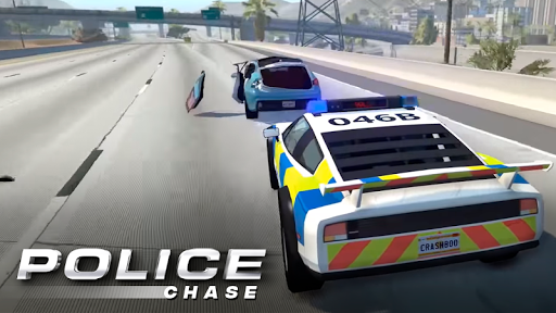Police Chase - Car 3D For PC