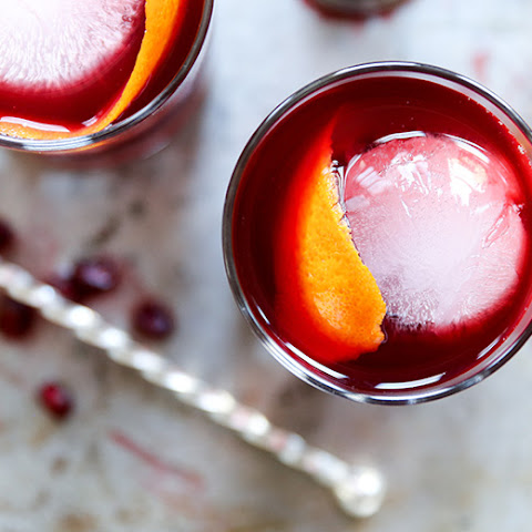 Beet-Pomegranate Cocktail