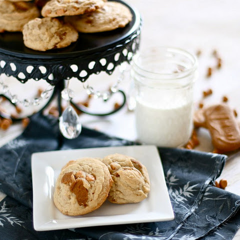 Biscoff Cheesecake Pudding Cookies