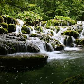 Beușnița Cheile Nerei România  by Ovidiu Gruescu - Landscapes Waterscapes