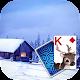 Solitaire Snowy Village Theme