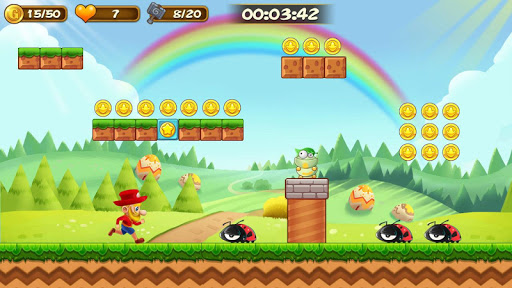 Super Adventure of Jabber screenshot 1