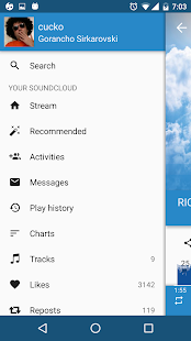 My Cloud Player for SoundCloud Screenshot