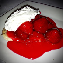 Strawberry Pie by Michael Villecco - Food & Drink Candy & Dessert (  )