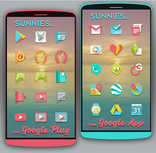 Sunnies Icon pack Screenshot 0