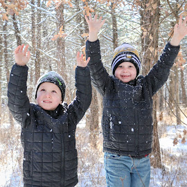 Let It Snow!!! by Kathy Suttles - Babies & Children Children Candids