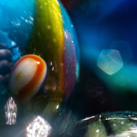 A marblelous journey by Maurizio Riccio - Abstract Macro ( abstract, macro, glass, marbles, close up )
