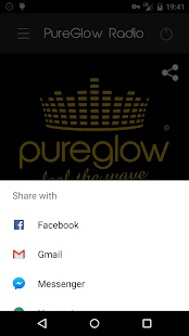 PureGlow Radio - screenshot