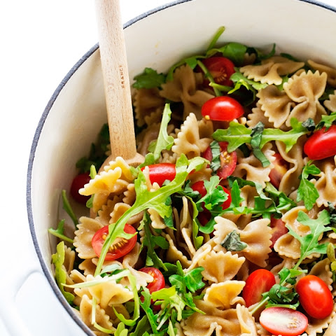 Arugula Pasta Salad with Tomatoes