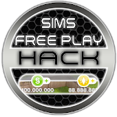Hack For Sims Freeplay Cheats Joke App Prank Icon