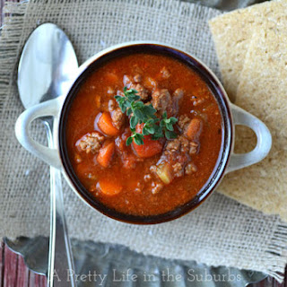 Hamburger Soup With Beef Consomme Recipes