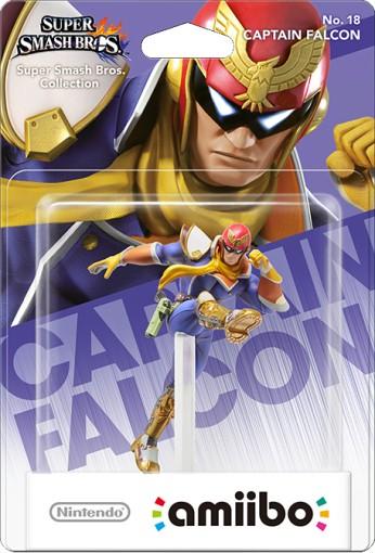 Captain Falcon packaged (thumbnail) - Super Smash Bros. series
