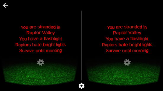Raptor Valley VR - screenshot