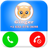 Download Full Fake Call From Talking Ginger 1.0 APK