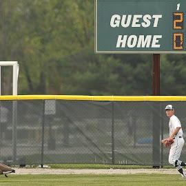 Greenwood VS Whiteland 1 by Oscar Salinas - Sports & Fitness Baseball ( greenwood indiana-greenwood vs whiteland boys varsity high school baseball april 19 2017,  )