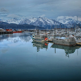 by Patricia Phillips - Transportation Boats ( alaska ports seward )