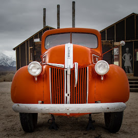 Ford Truck by Richard Michael Lingo - Transportation Other ( red, vintage, truck, transportation, ford )