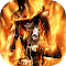 Death in fire live wallpaper 1.1 Apk