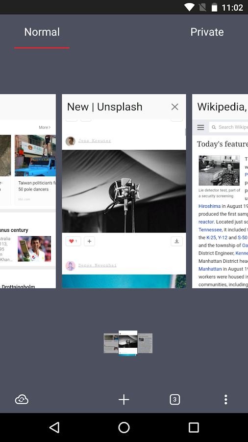 Opera browser - latest news Screenshot 3