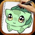 Download Draw Pokemons APK on PC