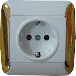 Electric Socket Simulator Icon