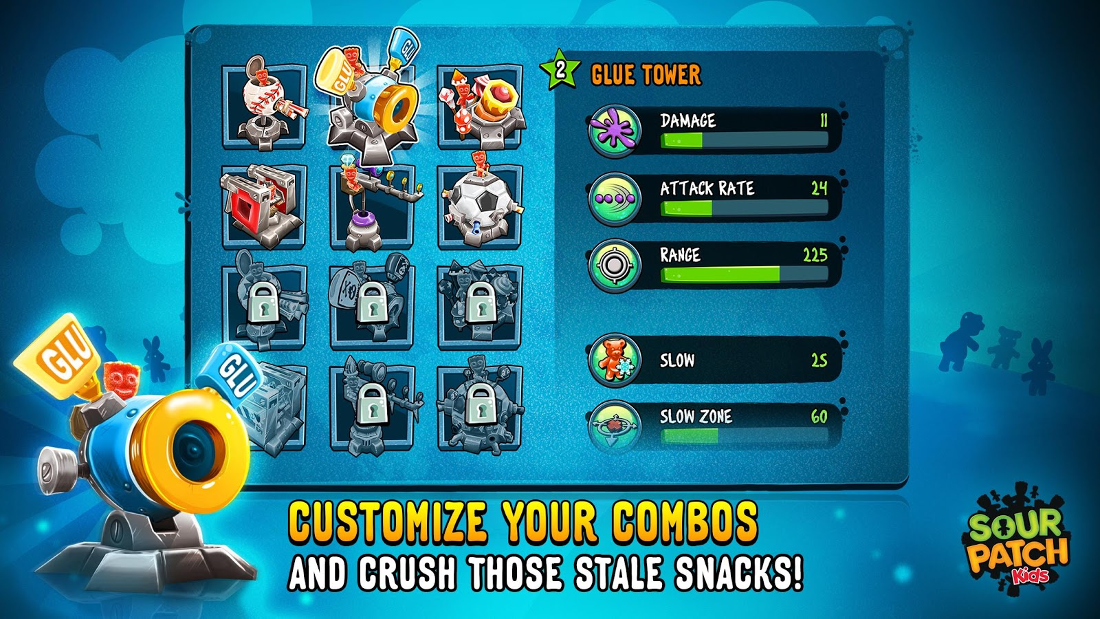 Sour Patch Kids: Candy Defense Screenshot 2