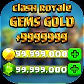 Free gems for clash royale prank APK for Windows 8