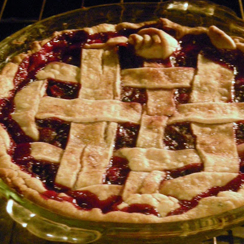 Leftover Cranberry Sauce Pie