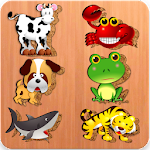 Cute Animals Puzzles Icon