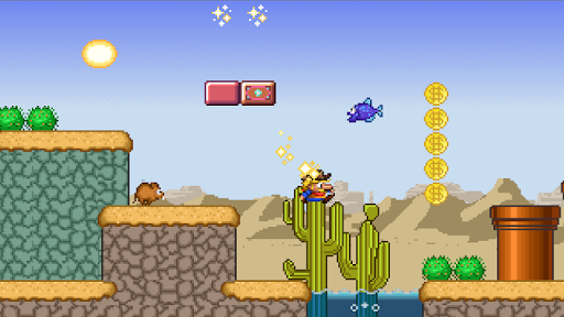 Super Jungle World venture - screenshot