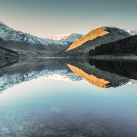 early morning by Haweswater Cumbria by Les Fitton - Landscapes Mountains & Hills