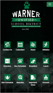 Warner Unified School District - screenshot