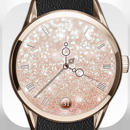 Glitter Watch Face