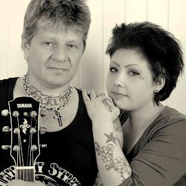 Jørn & Aurora by Jan Myhrehagen - People Couples