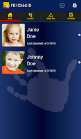 Screenshot of FBI Child ID
