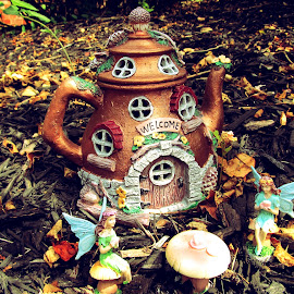 Fairy house by Maricor Bayotas-Brizzi - Artistic Objects Toys