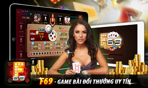F69: Game bai doi thuong 2016 - screenshot