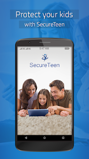 SecureTeen Parental Control Screenshot