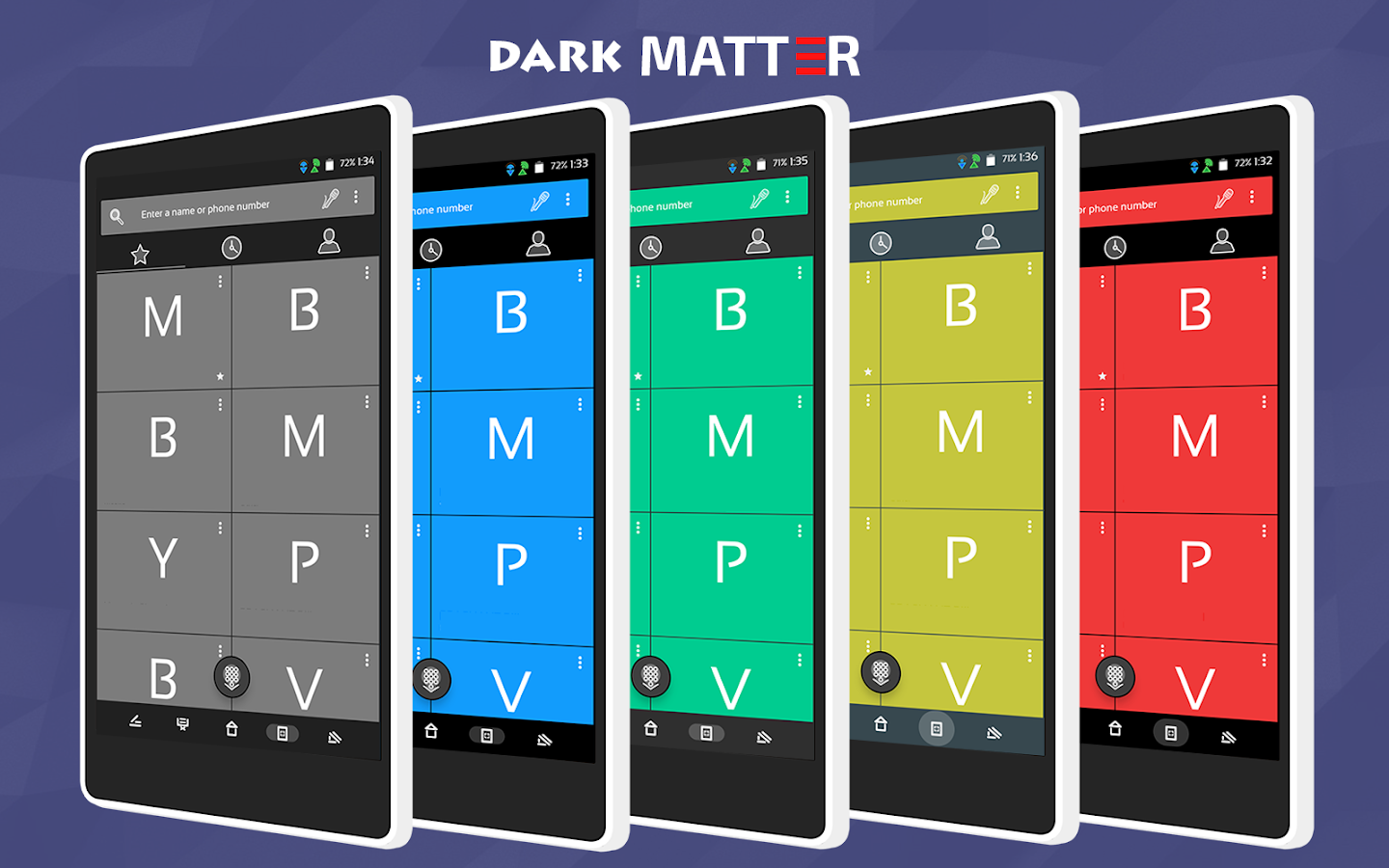 Dark Matter CM13/CM12.1 Theme Screenshot 2