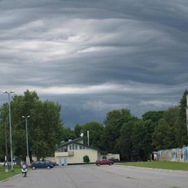 Cloud formation by Irvin Mujčin - Landscapes Cloud Formations ( slavonski, brod, croatia )