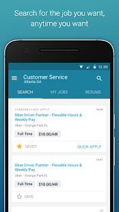 Job Search by CareerBuilder Business app for Android Preview 1