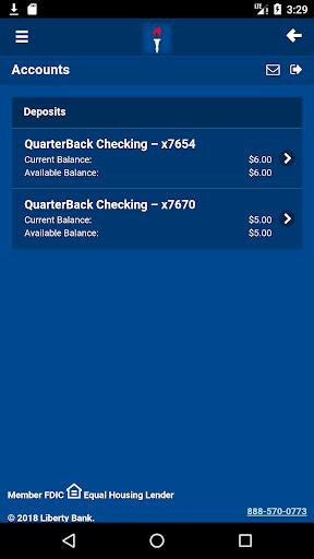 Liberty Bank Mobile Banking For PC