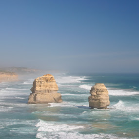 Twelve apostles by Sharon Verschelling - Landscapes Caves & Formations