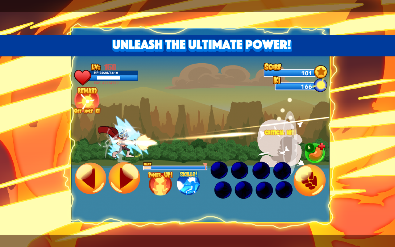 Burning God Fighter Screenshot 4