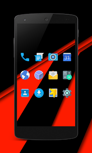 EpikuRed CM13 CM12 Theme- screenshot thumbnail
