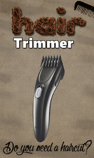 Hair Trimmer Clipper Prank - screenshot