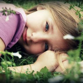 wild flowers by Crystal Hulskotter - Babies & Children Children Candids