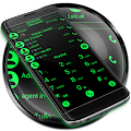 Theme for RocketDial and ExDialer Flat BGreen