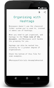 Monospace - Writing and Notes- screenshot thumbnail